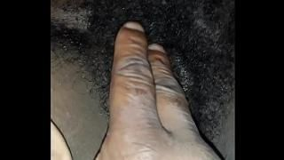 Lick black woman hairy pussy